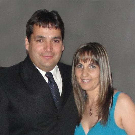 Ptor Aldo Campos y Silvia Krotevich
